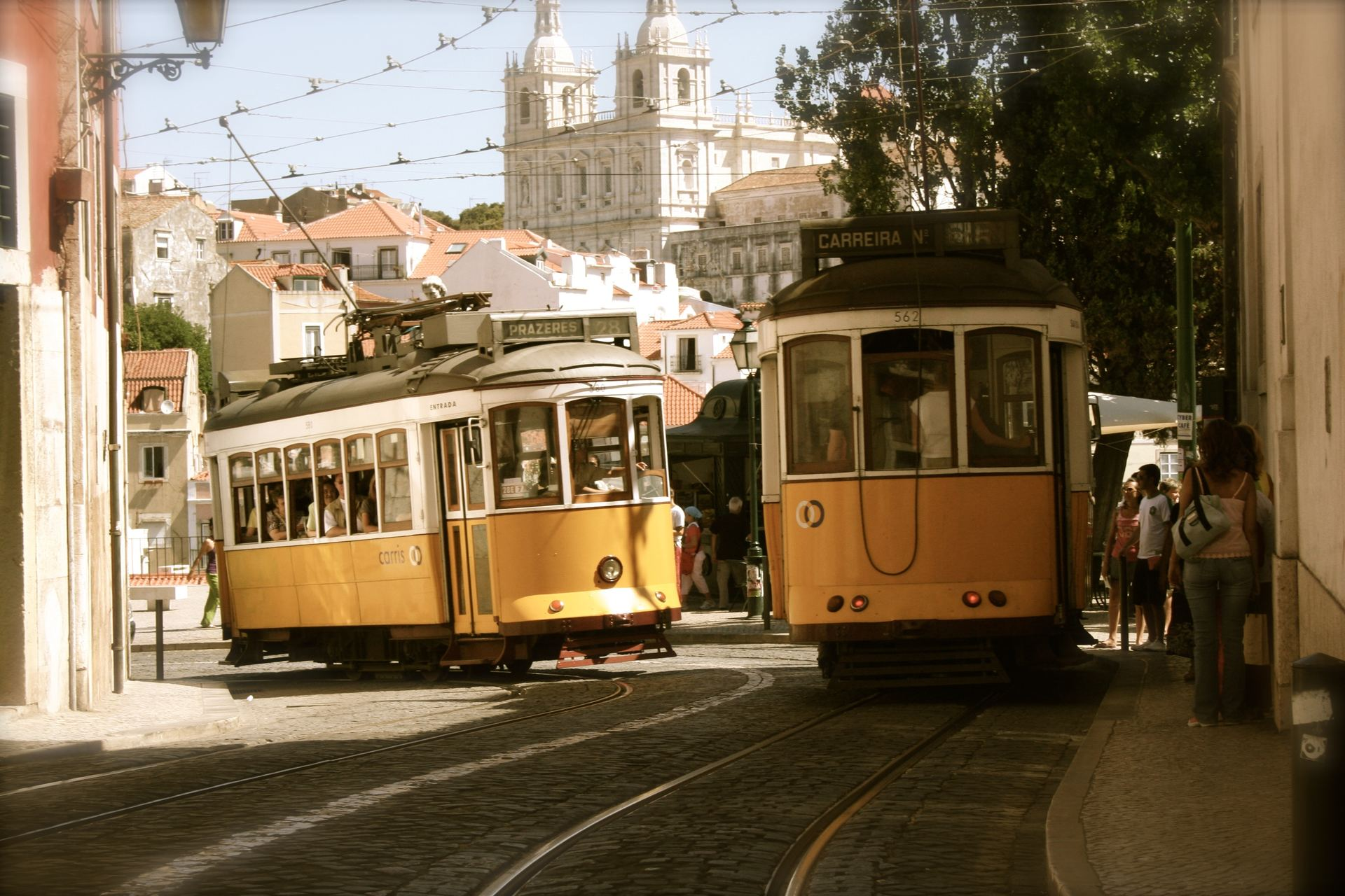 Hills Tramcar Tour. Visite touristique de Lisbonne