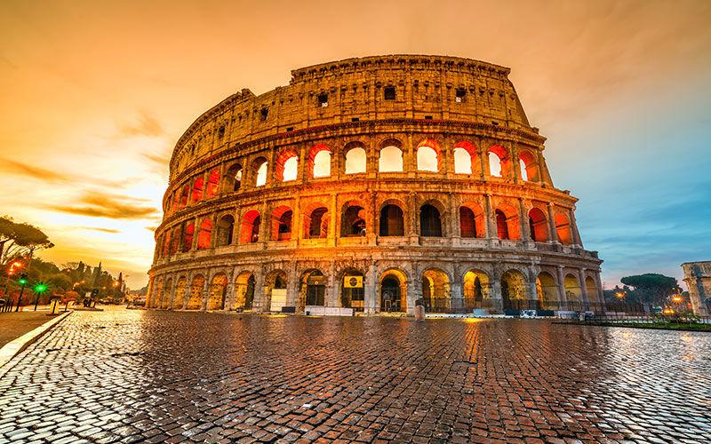 Rome impériale et Colisée