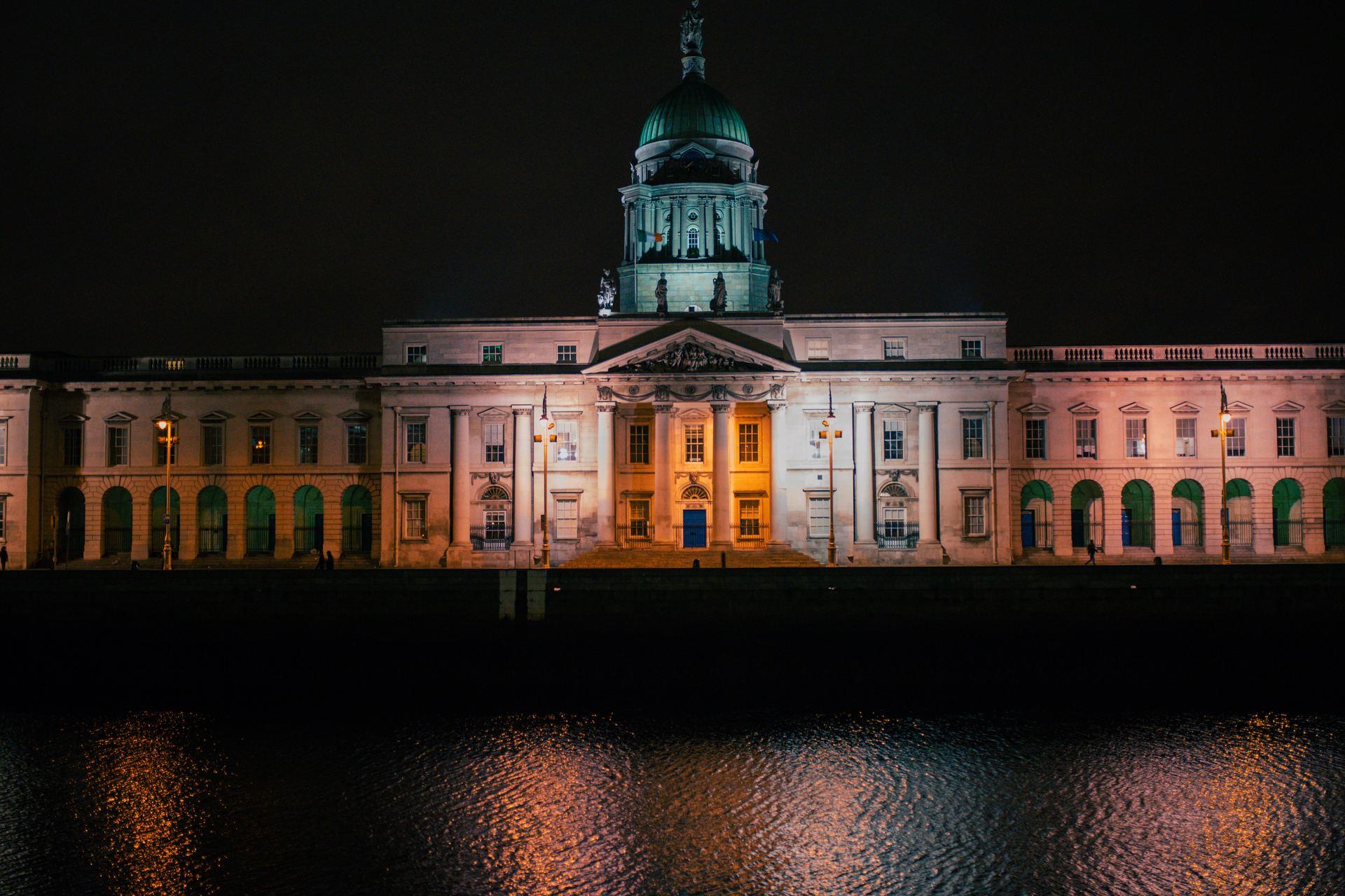 Visite nocturne de Dublin