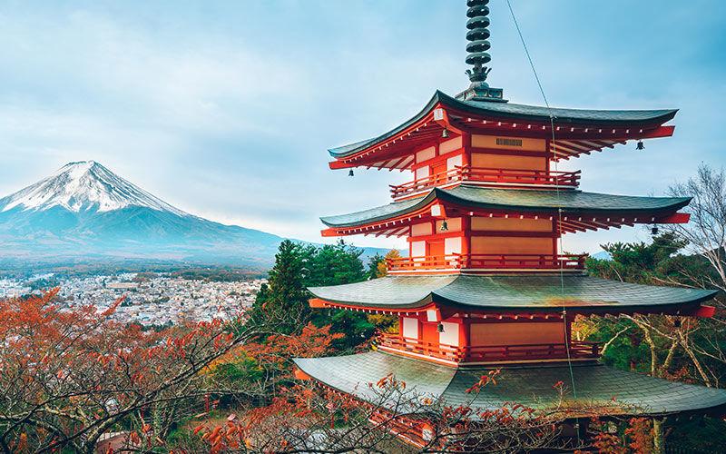Excursion d'une journée en autocar au mont Fuji et au lac Kawaguchi